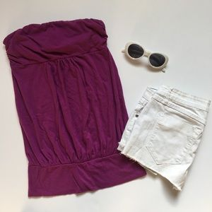 American Eagle Outfitters Tops - 🍇 Purple American Eagle Tube Top 🍇